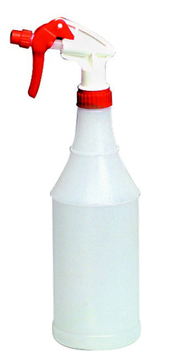 Sax Clogproof Poly Bottle with Trigger Sprayer, 32 oz Bottle