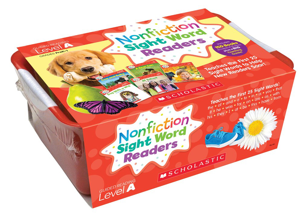 Nonfiction Sight Word Readers Classroom Tub