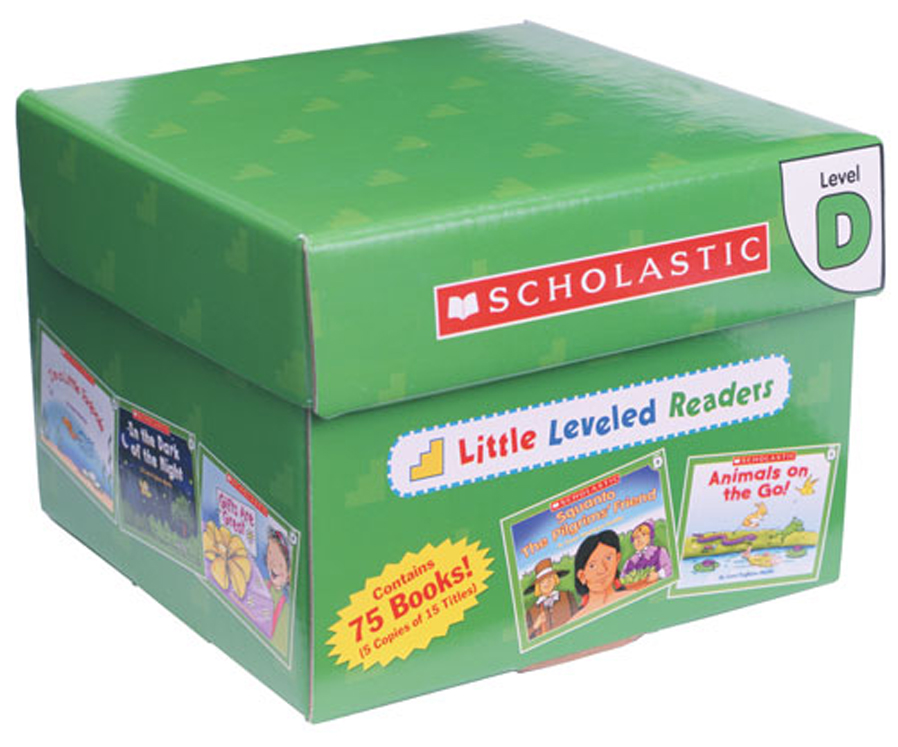 Little Leveled Readers - Set D