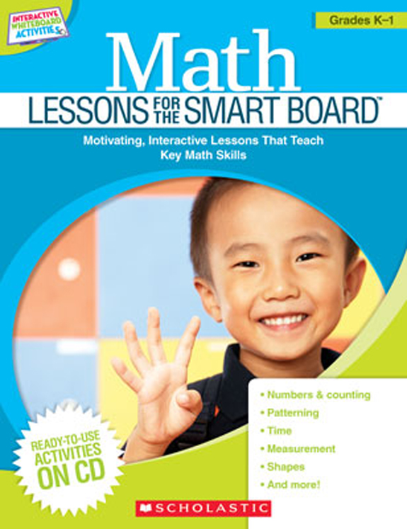 Math Lessons for the SMART Board, Grades K-1