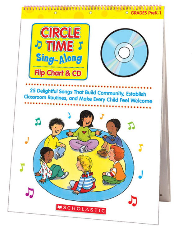 Sing-Along Flip Chart and CD, Circle Time