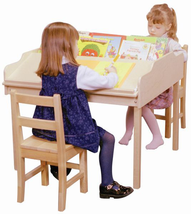 Sloped Reading Activity Table