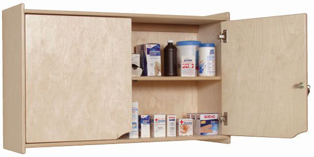 Locking Wall Storage Cabinet