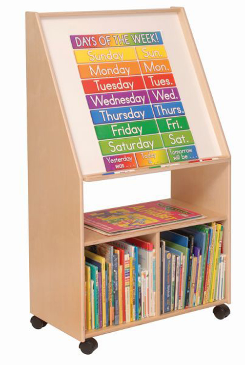 Write and Wipe Easel with Storage