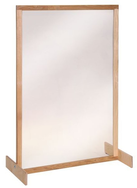 Clear Panel Room Divider