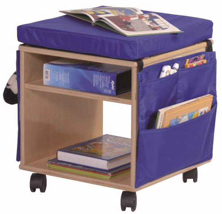 Mobile Classroom Stool and Storage
