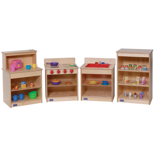 Four Piece Toddler Kitchen Set