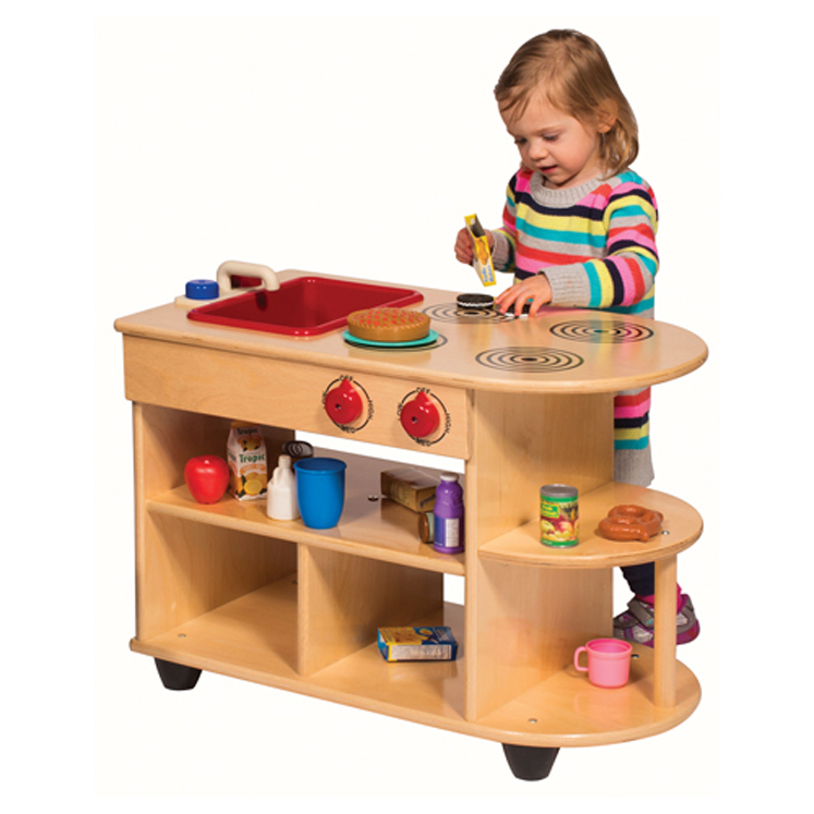 Toddler 2 In 1 Island Kitchen Set