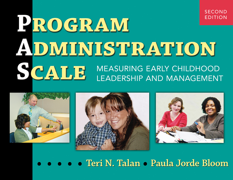 Program Administration Scale, PAS Second Edition