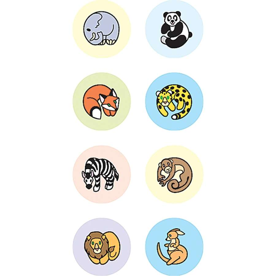 Zoo Animals - Mini Stickers