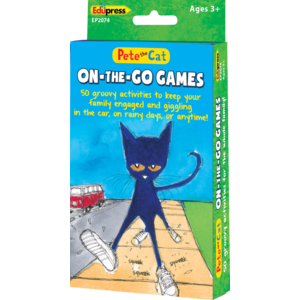 Pete the Cat On-the-Go-Games