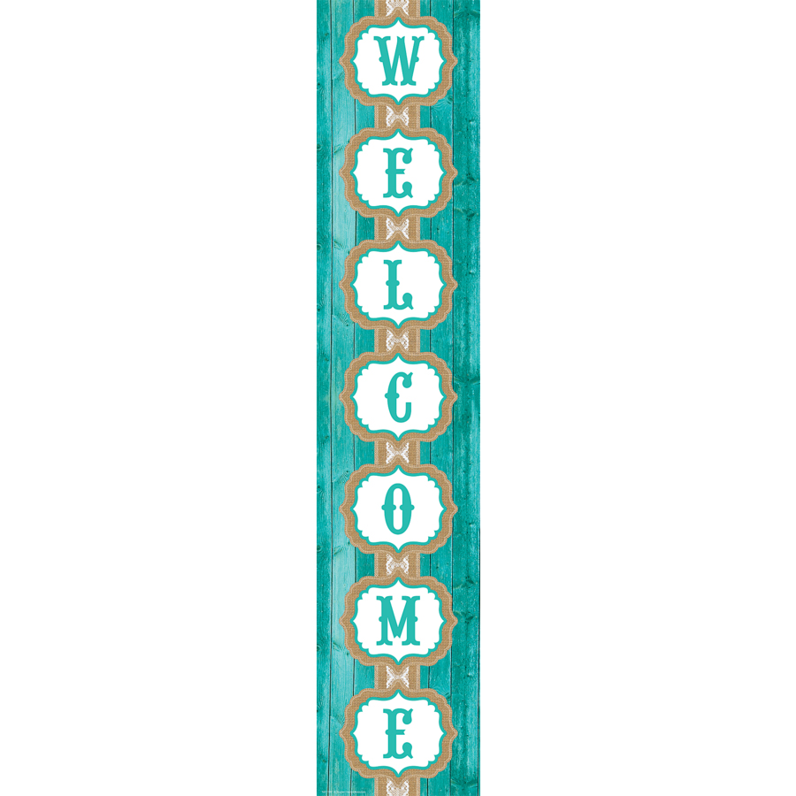 Shabby Chic - Welcome Banner