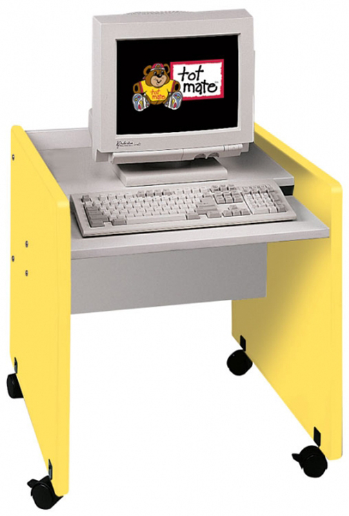 Single Computer Desk Mobile