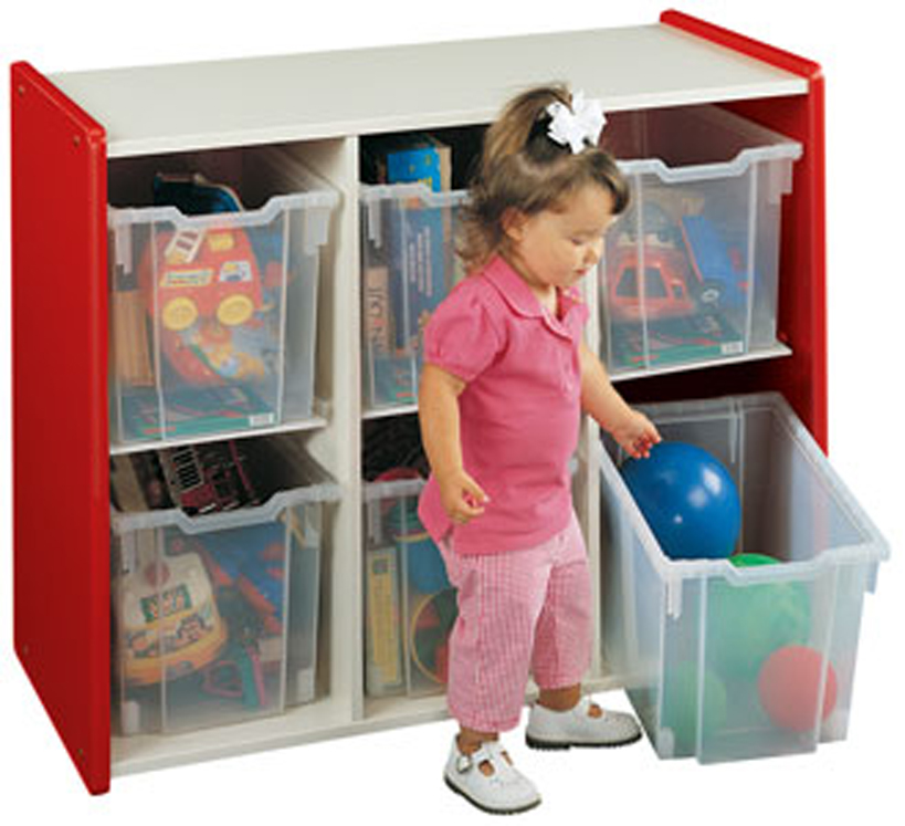Preschool Extra-Deep Big Bin Storage