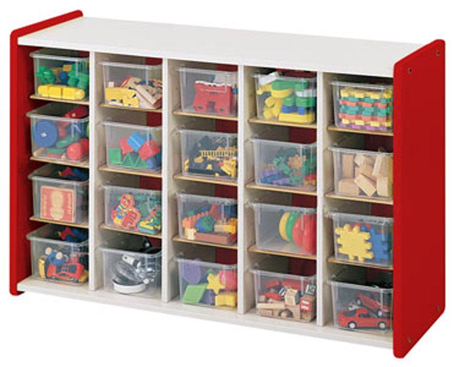 Divided Storage with Trays