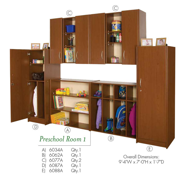 Preschool Room 1 VOS System