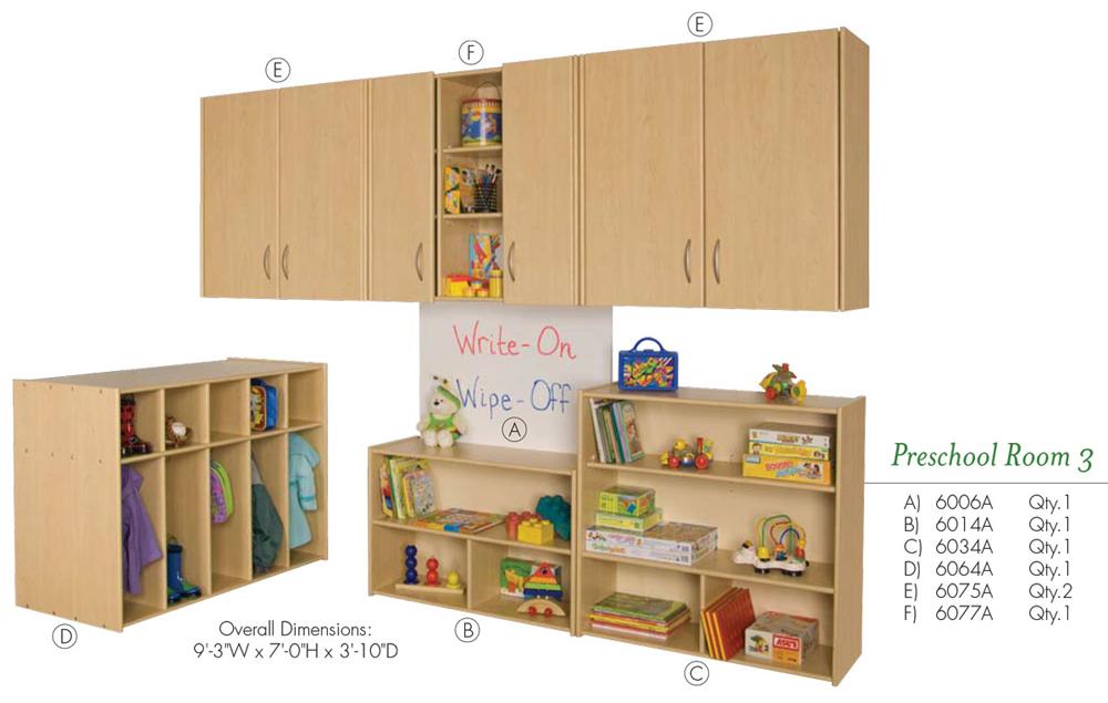 Preschool Room 3 VOS System