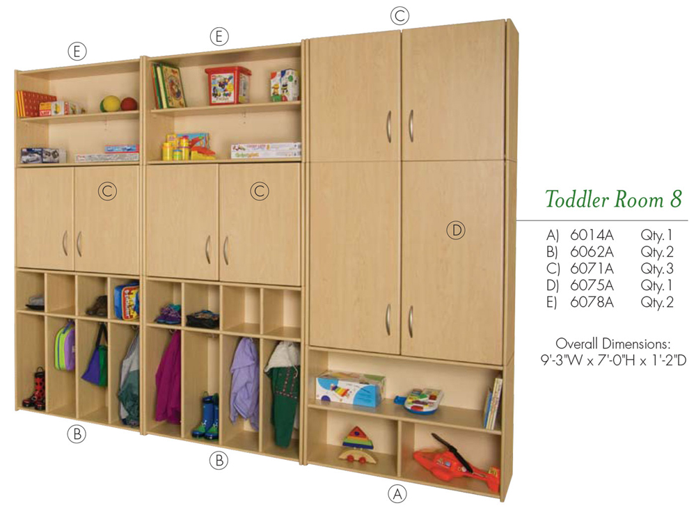 Toddler Room 8 VOS System