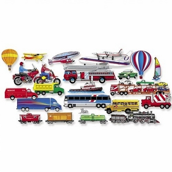 Felt Fun Trucks Trains & Planes