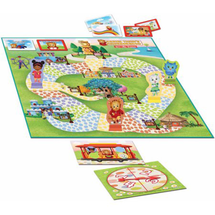 Daniel Tigers Neighborhood Grr-Ific Game
