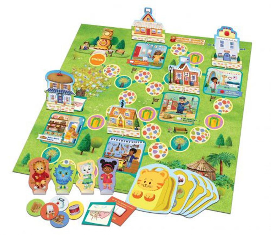 Daniel Tigers Welcome to Main Street Game