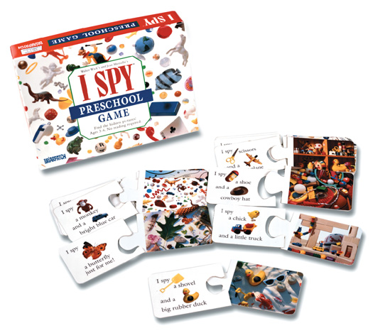 I SPY Preschool Game