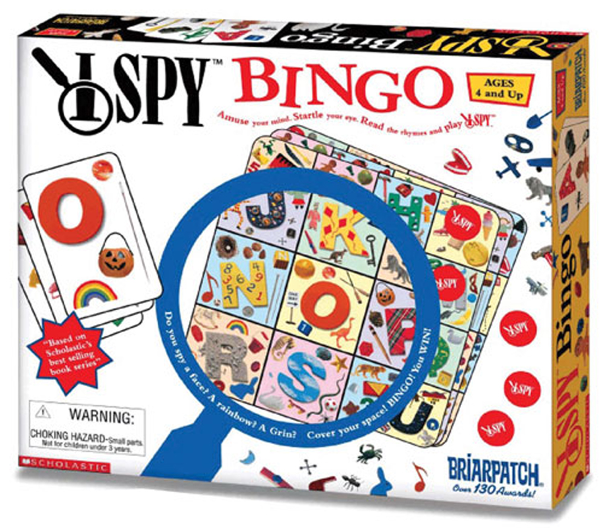 I SPY Bingo Game