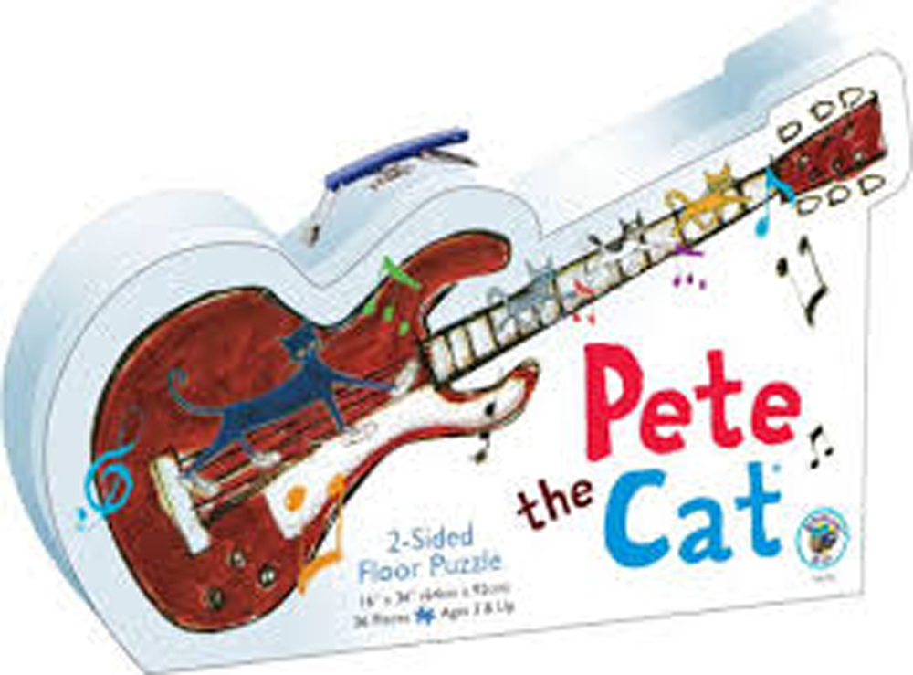 Pete the Cat - Two-Sided Floor Puzzle