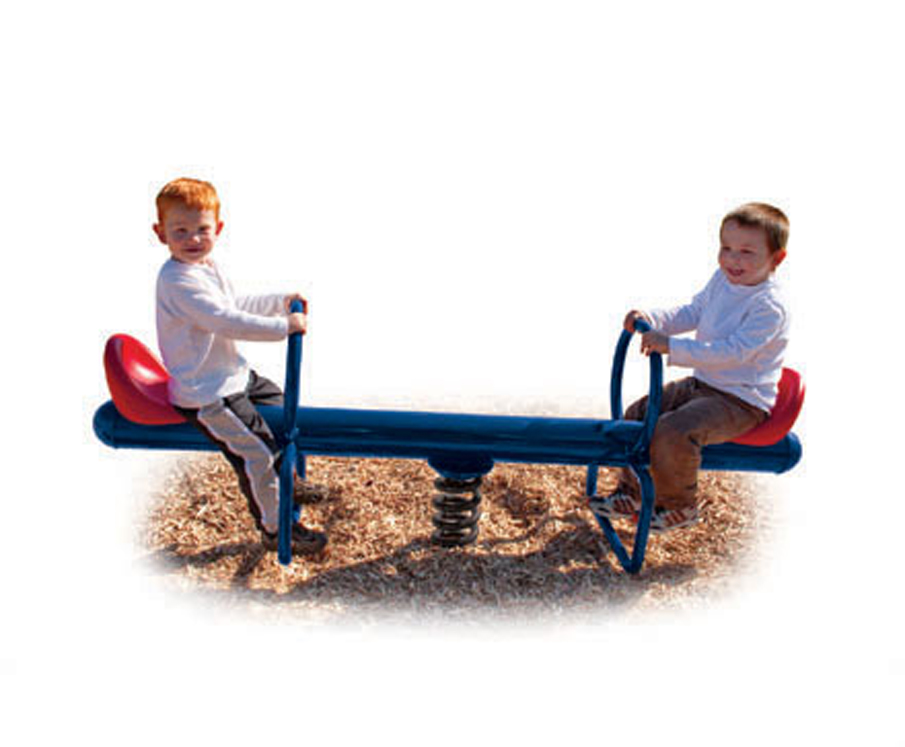 Two Rider Spring SeeSaw