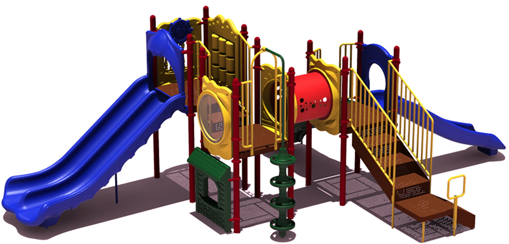 Carson's Canyon Playground - Playful Colors