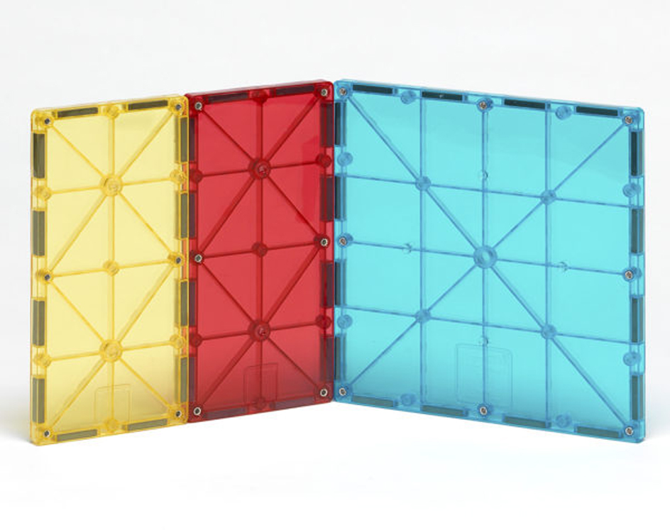 Magna-Tiles Rectangles - 8 Piece Expansion Set
