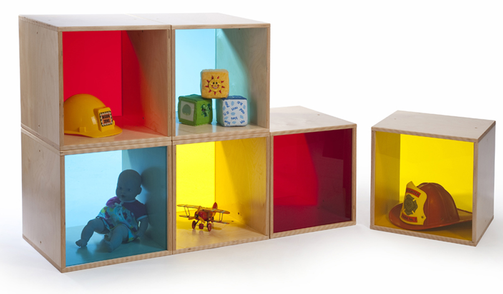 Colorful Cube Storage Set