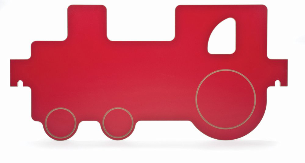 Toddler Play Space Train Panel