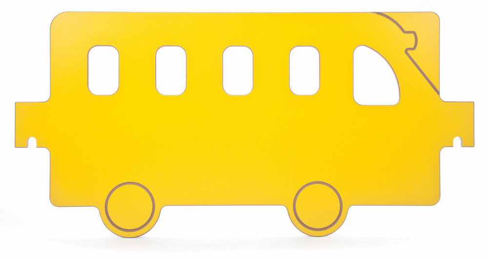 Toddler Play Space Bus Panel