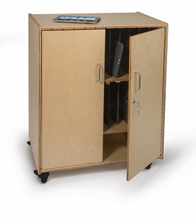 Tablet Storage Cabinet