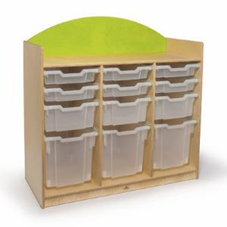Rainbow Tray Storage Cabinet - 2 Colors