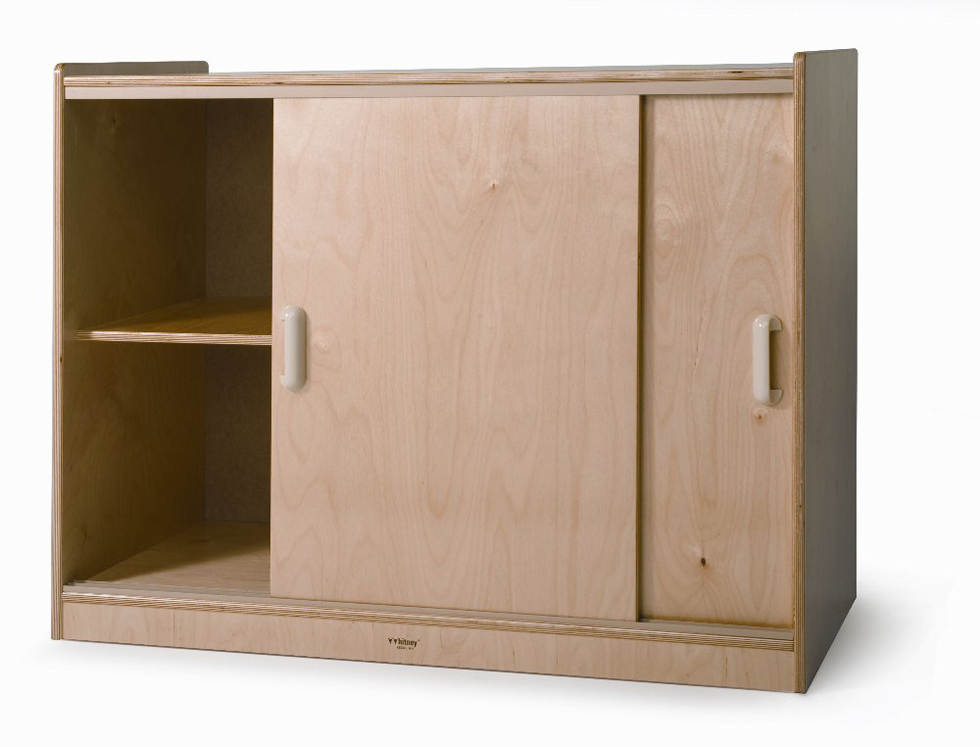 Sliding Doors Storage Cabinet