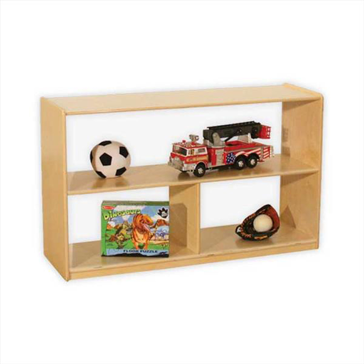 Versatile Shelf Storage with Acrylic Back - 30
