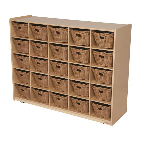 25 Tray Storage with Baskets | 38
