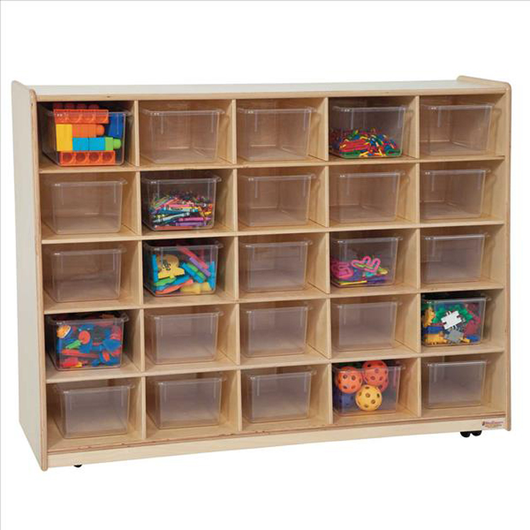 Tip-Me-Not 25 Tray Storage