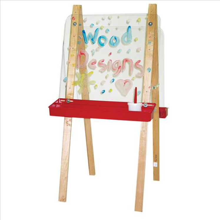 Double Easel with Acrylic 2 Sides 48