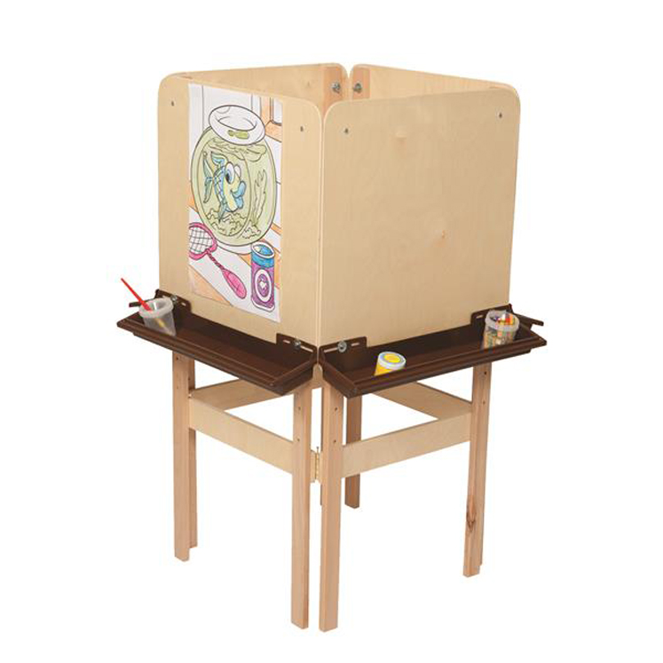 4 Side Easel with Plywood | 48