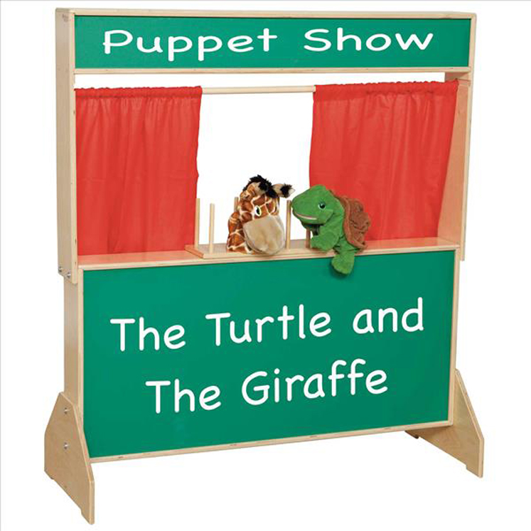 Deluxe Puppet Theater with Chalkboard | 48