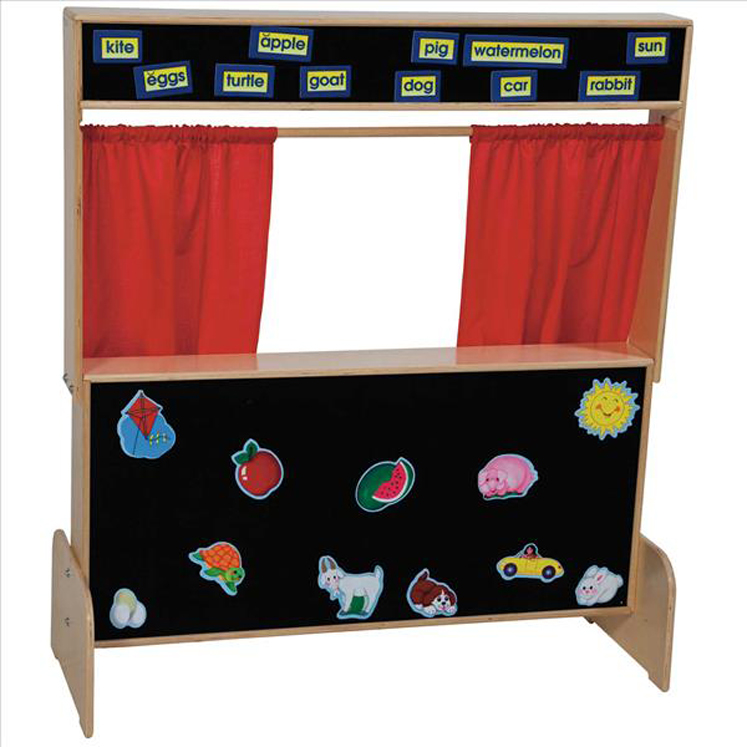 Deluxe Puppet Theater with Flannelboard | 48