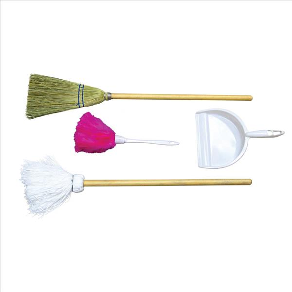 Broom, Mop, Duster, Dust Pan