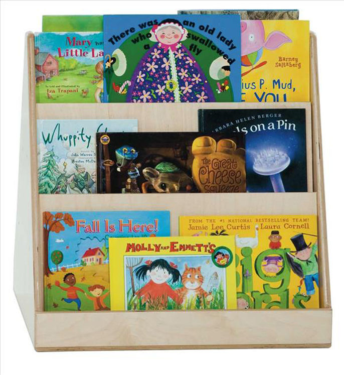 Tot Size Double Sided Book Display | 25