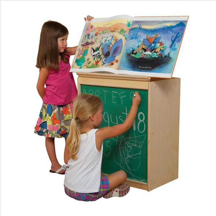 Big Book Storage - Display with Chalkboard | 28