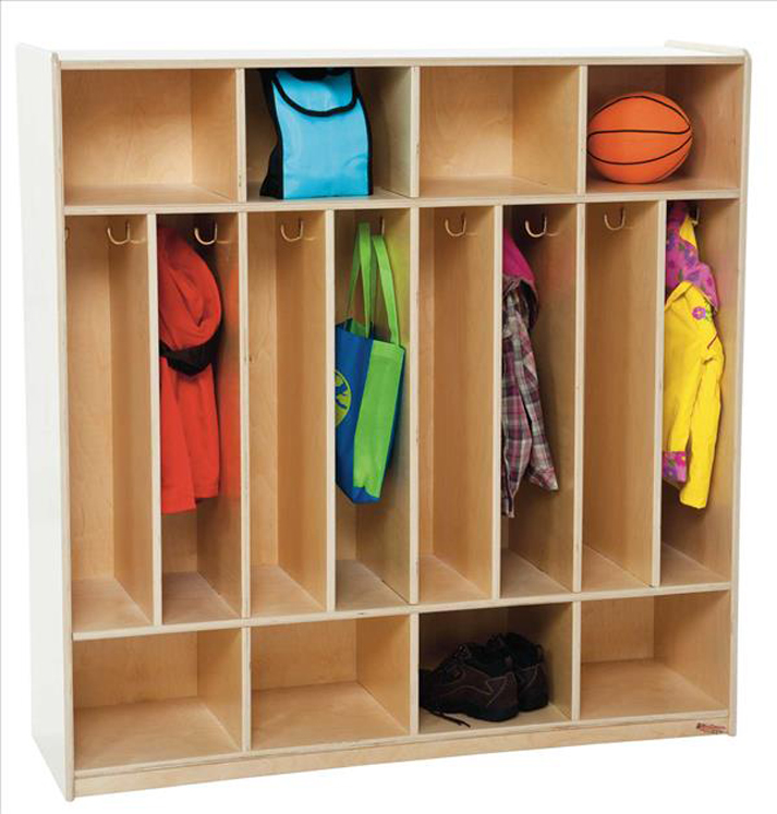 8 Section Space-Saver Locker