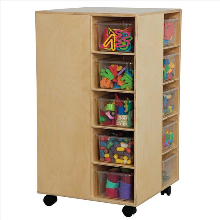 Cubby Spinner with Trays | 37