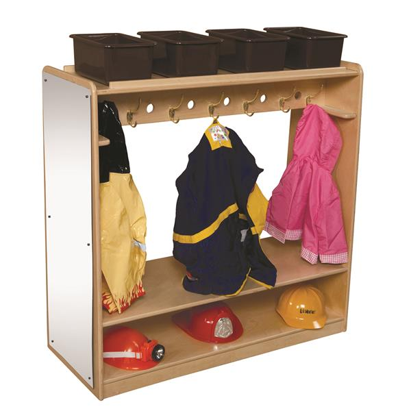 Mobile Double Sided Dress-Up Locker with Mirror | 41